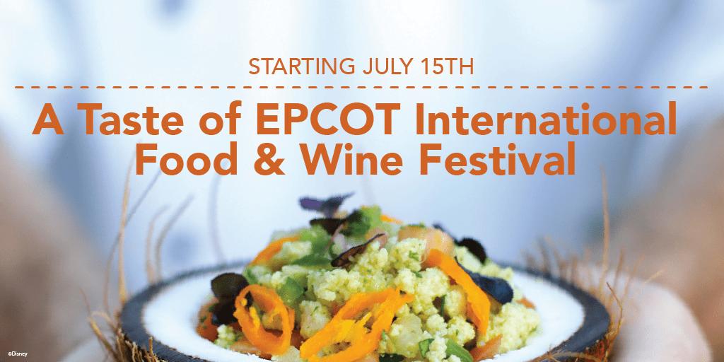 A Taste of EPCOT International Food & Wine Festival